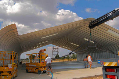 Tatoi Airfield Hangar